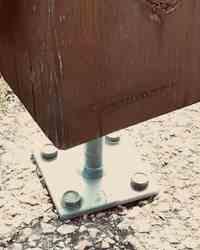 Peanas y bases de pilar