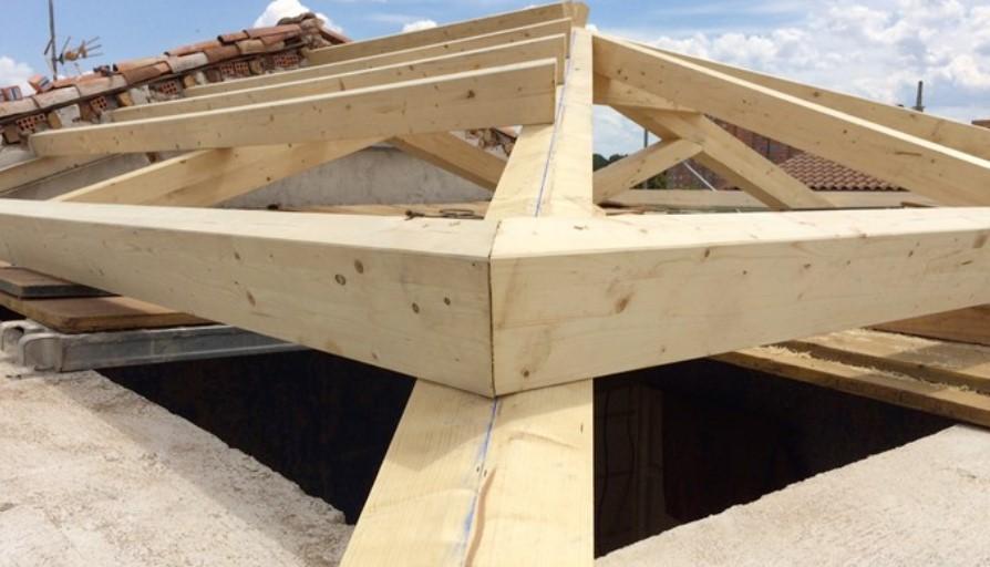 Todo para tus cubiertas y estructuras en madera